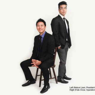 Left (Nelson Liem, President and Founder, eXmerce); Right (Felix Chow, Operations Director, eXmerce)