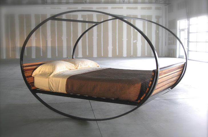 MOOD-ROCKING DESIGNER BED