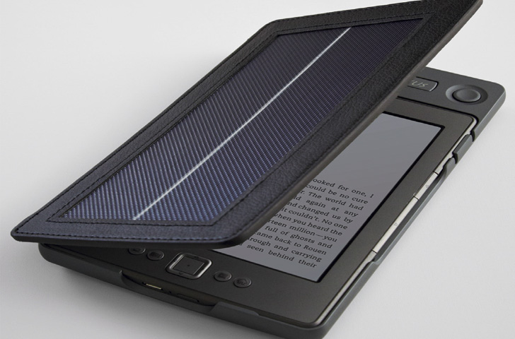 SOLAR KINDLE CHARGER