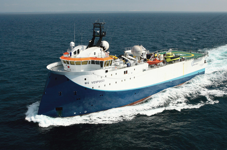 The First True 3d Marine Seismic System The Ogm