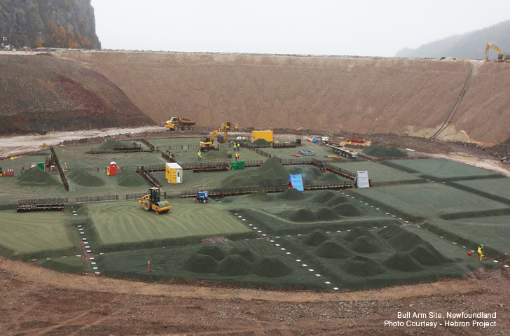 hebron project A top official with the majority owner of the hebron project says the company is still committed to first-oil by 2017, dispelling widespread speculation about delays some delegates at the .