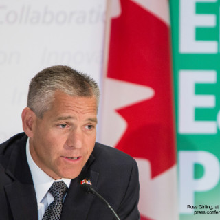 Russ Girling, at the Energy East launch press conference on August 1, 2013