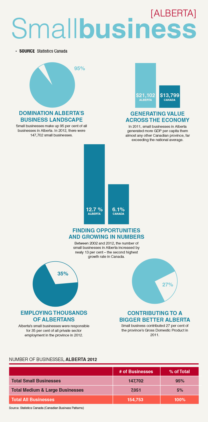 small business alberta infographic