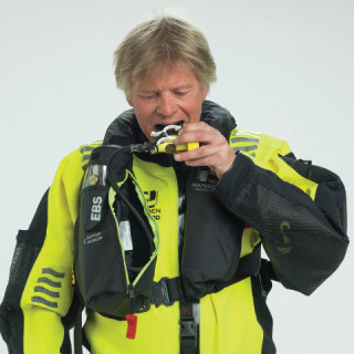 SeaAir EBS_SeaAir – The Emergency Breathing System, SeaAir EBS, is supplied as an integral part of the SeaAir Survival Suit.