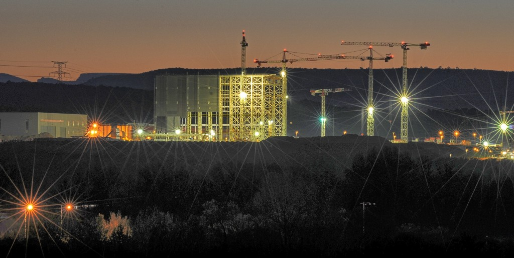 ITER by night