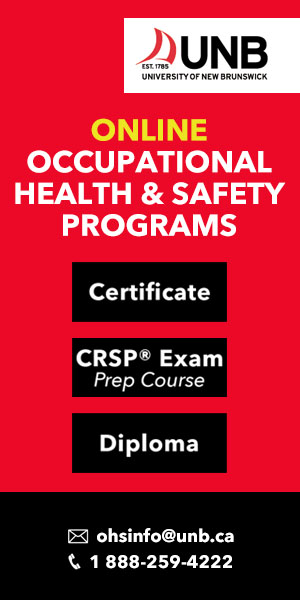 Occupational Health and Safety Programs at UNB