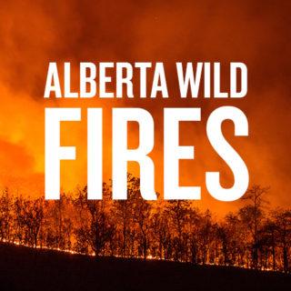20 Alberta Wildfires Still Blazing