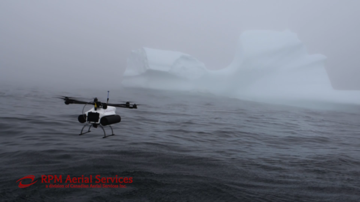 Drones and icebergs