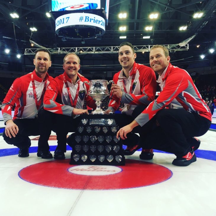 the brad gushue team