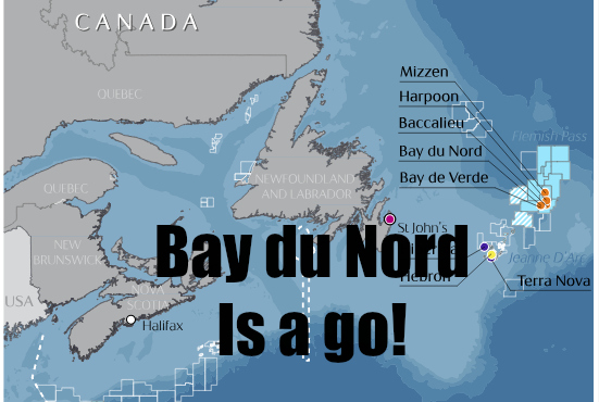 Offshore Newfoundland Boom Begins      THE OGM